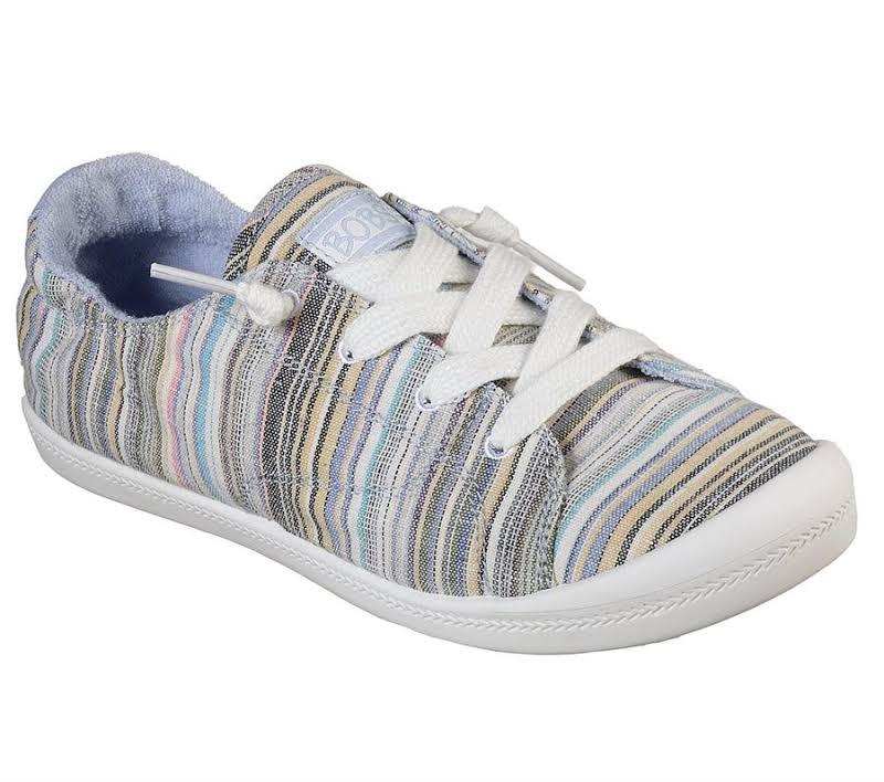 Skechers BOBS Beach Bingo Island Reef Sneaker, Adult,