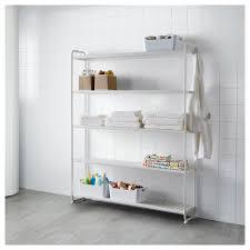 mulig shelving unit white 120x34x162 cm ikea