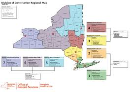 New York State Map by New York State Office Of General Services