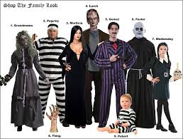 Family Of 3 Halloween Costume by The Addams Family A Gothic Manor Party Costumebox Blog