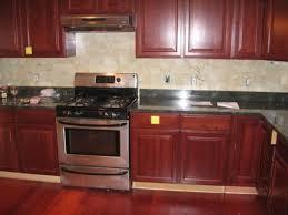 Kitchen Backsplash Options Download Kitchen Backsplash Cherry Cabinets Black Counter