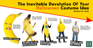 The Tick Costume Halloween by The Inevitable Devolution Of Your Halloween Costume Idea Huffpost