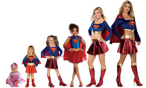 Supergirl Halloween Costume Superhero Costumes Superman Spiderman Oya Costumes