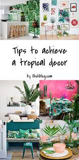Recycle Home Decor Ideas Miami Inspired Tropical Decor Ideas Recycling Home And Diy Home