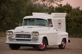 Vintage Ford Ice Cream Truck - a wicked awesome 1958 chevy 3100 ice cream truck
