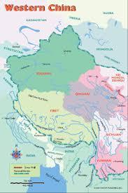 Map Of China Provinces Willgoto China Western China Map