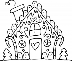 gingerbread house coloring pages olegandreev me