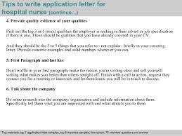 Nursing School Admission Letter Samples