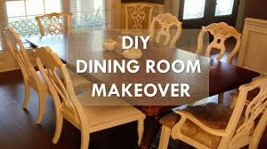 Dining Room Makeovers by Diy Dining Room Makeover
