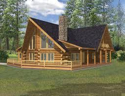 small 2 story log cabin floor plans