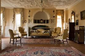 victorian lounge decorating ideas dark finish hardwood bun foot