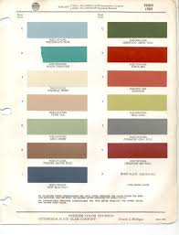 1959 ford paint codes