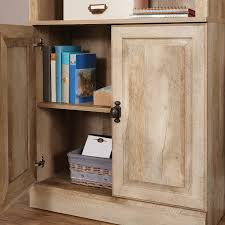better homes and gardens crossmill bookcase with doors multiple