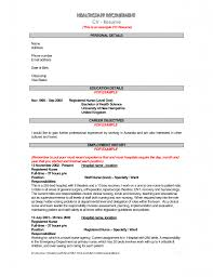 Example Job Resume by 28 Sample Cv Resume Student Cv Example 187 Resume Format