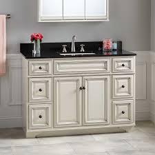 Misschon Vanity For Rectangular Undermount Sink Antique - 48 bathroom vanity antique white