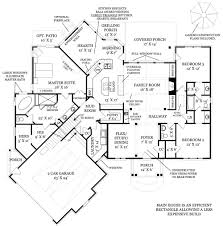 unique one story house plans house plan
