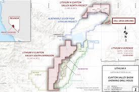 North Las Vegas Map by Clayton Valley U2013 Lithium X