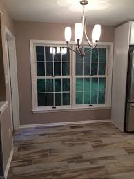 wrapping up the kitchen remodel painted walls and trim today