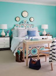 Turquoise Wall Paint Transitional Bedroom Benjamin Moore Sea - Turquoise paint for bedroom