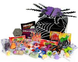 spooky spider halloween candy box