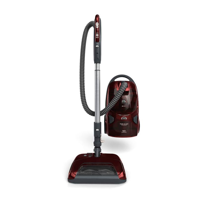 Pet-Friendly Pop-N-Go Bagged Canister Vacuum, Red BC4027