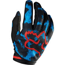 ladies motocross gear all new fox racing 2015 womens dirtpaw gloves blue red wide