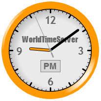 United Arab Emirates World Time Server