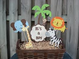 Boy Baby Shower Centerpieces by Baby Shower Boy Jungle Theme Archives Baby Shower Diy