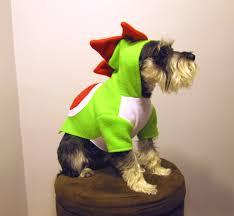 yoshi nintendo super mario bros dinosaur dog halloween costume