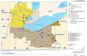 Map Of Detroit Metro Airport by Metroplex Environmental Cleveland Detroit Metroplex