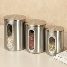 100 fiesta kitchen canisters home basics stainless steel