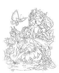 new fairy coloring pages cool color idea 653 unknown