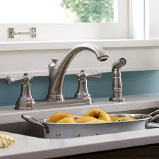 kitchen faucets with side sprayer american standard