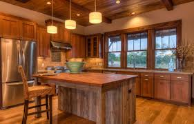 Kitchen Design Rustic by Small Rustic Kitchen Designs White Painted Wooden Island Ceiling