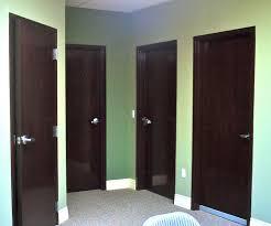 commercial interior wood door