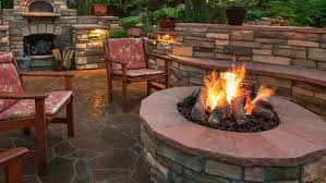 How To Make A Fire Pit In Backyard by Video Light It Up How To Build A Backyard Fire Pit In 5 Easy