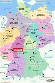 Detailed Map Of Germany by Frankfurt Map Frankfurt Location On The Map Of Regions Of Germany