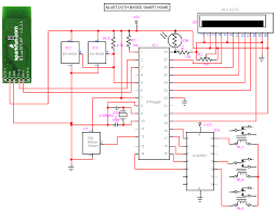 home theater circuit diagram bluetooth based smart home circuit diagram electronic circuits