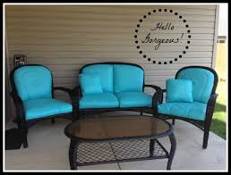 Where To Buy Patio Cushions by Paint Your Patio Seat Cushions And Transform Your Patio For Less