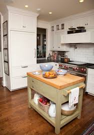 stunning small kitchen islands with drawers and solid wood butcher