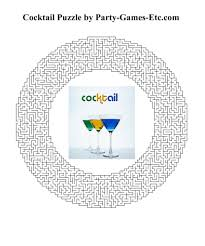 cocktail party games free printable games and activities for a