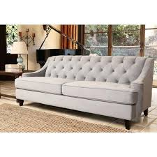 Ava Velvet Tufted Sleeper Sofa by Boca Tufted Aqua Velvet Sofa I Roomservicestore