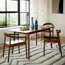 Lena MidCentury Dining Table Large West Elm - Century dining room tables
