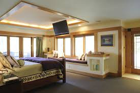 Small Bedroom With Tv Designs Bedroom Awesome Master Bedrooom Design With Luminous Square