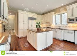 Marble Island Kitchen Kitchen With Marble Island Royalty Free Stock Image Image 12656626