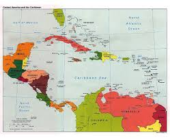 Political Map Of South America Central America Map Puzzle Coloring Coloring Pages
