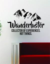 Art On Walls Home Decorating by Wanderluster Quote Decal Sticker Wall Vinyl Art Decor Home