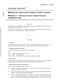 as 2205 7 1 2003 methods for destructive testing of welds in metal