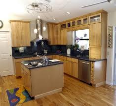 Kitchen Island Oak by L Shaped Kitchen Island Kitchen Room Wooden Oak Floor L Shaped
