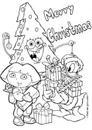 spongebob happy birthday coloring pages printable christmas dora spongebob and donald duck coloring pages